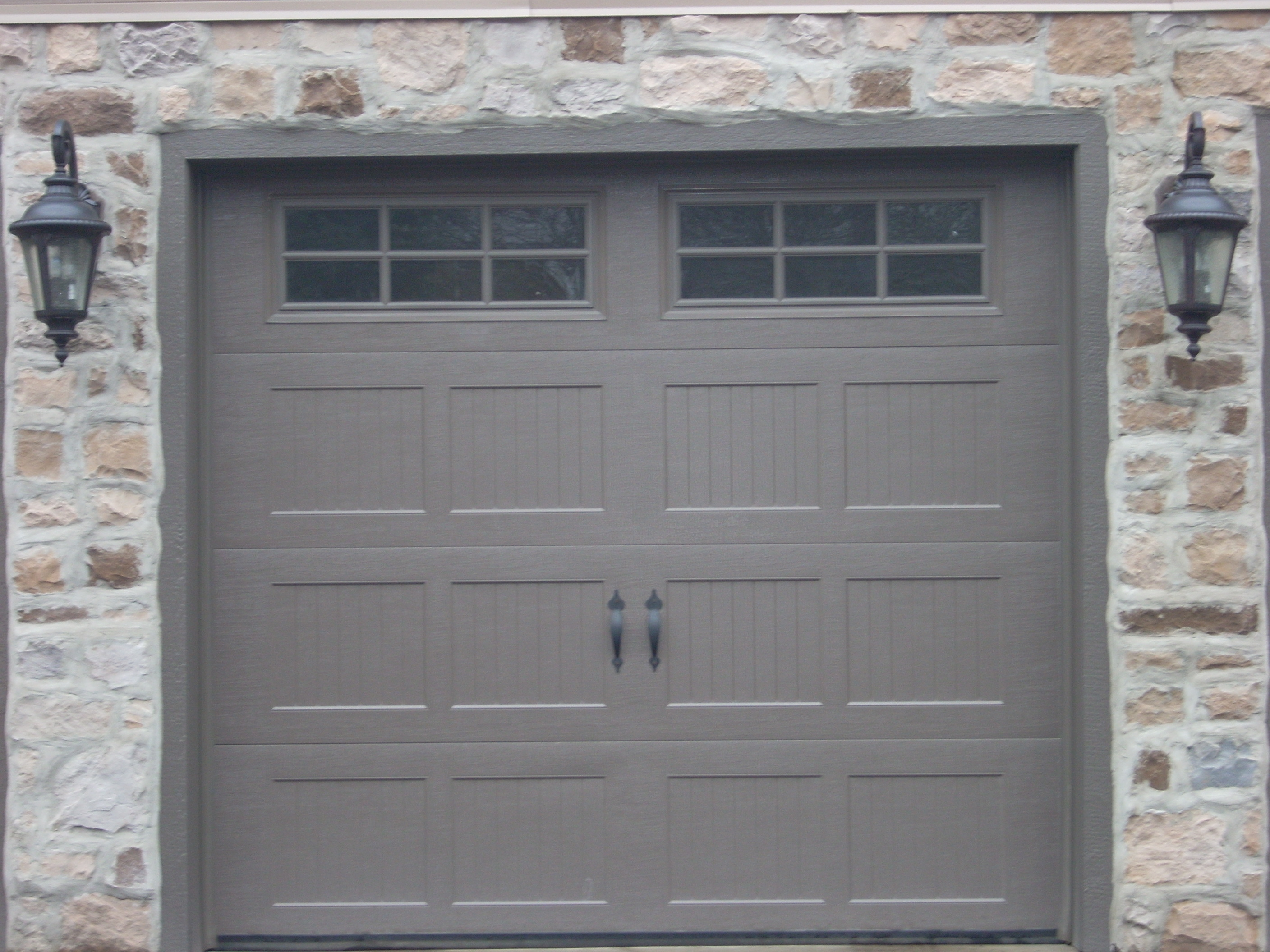 Wayne doors classic steel 8300 sonoma ranch panel for Wayne dalton garage doors